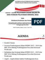 2. Aspek – Aspek Pelayanan Dasar Dalam IPP Dan SPM Desa