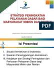 1. Strategi Peningkatan Pelayanan Dasar Bagi Masyarakat Miskin Dan Rentan, Bappenas