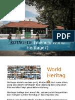 Kotagede World Heritage