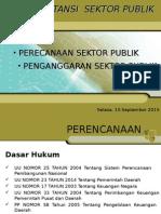 Presentasi Akuntansi Sektor Publik