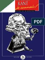 Kant, Je Connais ! - Strathern,Paul