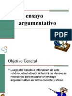 Ensayo Argumentativo (Clase)