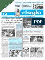 Edicion Impresa El Siglo 12-11-2015