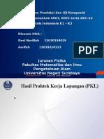 Hasil PKL