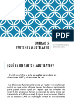 Unidad 5 Switches Multilayer