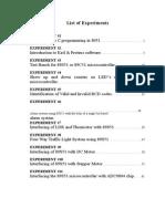 Embedded System Manual