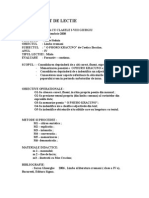 Plan de Lectie o Phuro Kracuno