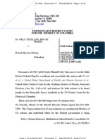 TAITZ v OBAMA (QW) - 17 - First MOTION to Consolidate Cases by ORLY TAITZ  - gov.uscourts.dcd.140567.17.0