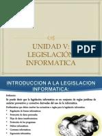 Unidad v de Legislación Informatica2 Cultura E