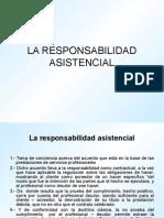 La Responsabilidad Asistencial UPSJB