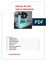 Manual de Uso Maqueta Rotor(Acabado)