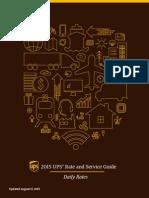 UPS Daily Rates