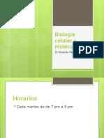 presentacion Capitulo 1 Karp  biologia celular