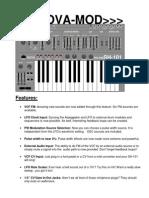 Roland Sh 101 Nova Mod