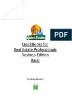 Quick books for Real Estate