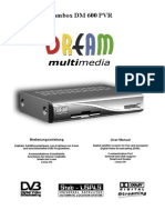 User Manual Dm600pvr