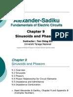 EEEB123 - Chapter 9 Sinusoids and Phasors