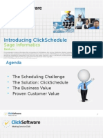Introduction to ClickSchedule