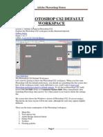 Adobe Photoshop Notes