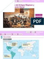 107032438 Historia de Espana 2⺠Bachillerato Presentacion Tema de La Crisis Del Antiguo Regimen y Revolucion Liberal