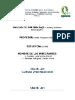 CHECK LIST Cultura Organizacional (1)
