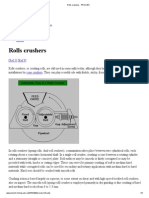 Rolls Crushers - PROC_ES