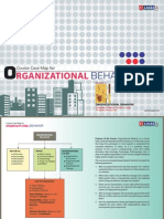 Organizational Behavior Course Case Map