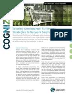 Tailoring Omnichannel Fulfillment Strategies to Network Segments
