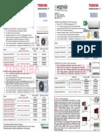 Cenovnik Za Toshiba Carrier Klima Uredi Juni 2015 New