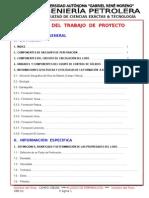 Índice Proyecto EJEMPLO