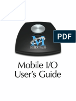 Metric Halo Mobile I/O Users Guide
