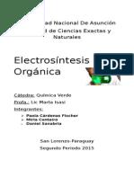 La Electroquímica y La Química Verde