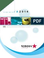 REMOSA tarifas 2014