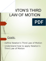 newtons third law ppt