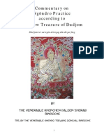 Commentary on Ngöndro Practice According to the New Treasure of Dudjom