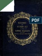 The History of Hyder Shah, Alias, Hyder Ali Khan Bahadur, And of His Son, Tippoo Sultan