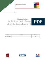 Classe Isolation Reseaux Distrib EC