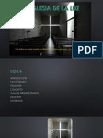 Minimalismo - La Iglesia de La Luz