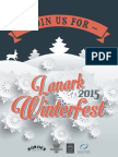 Lanark Winterfest Brochure