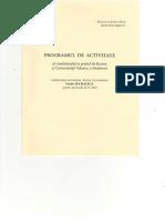 Programul de Activitate MAMALIGA Vasile