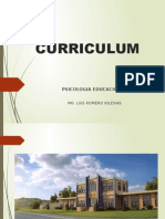 Psicologia Educativa 07 - Curriculum Educacional