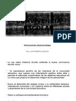 Psicologia Educativa 09 - Convivencia Escolar