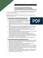 Prenatal Care Provider Policies and Procedures