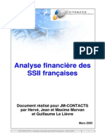 Analyse Financiere SSII