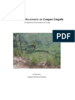 Extra mini diccionario en Lengua Lingala Vocabulario