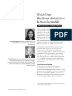 Which Dw Architecture is Most Successful
