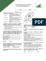 Evaluación Modelos Atómicos 1