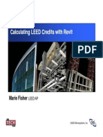Calculating LEED Credits With Revit