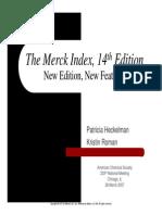 Merck Index Tutorial