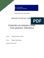Controles en Sistemas CRM. Caso Práctico-Salesforce (Ramos, 2013)